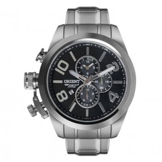 15ab67a73d7 Relógio Masculino Orient Analogico D2sx - Prata - Compre Agora ...