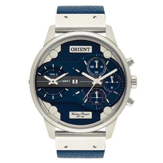 0e254de55c85f Relógio Orient Masculino - MBSCT002 D1DX - Prata - Compre Agora ...