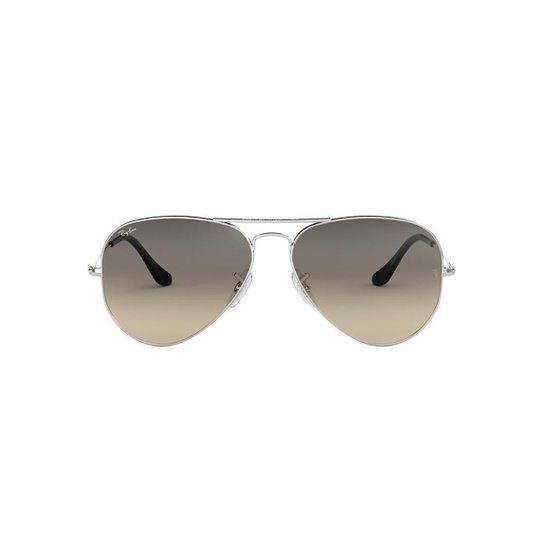 Óculos de Sol Ray-Ban Aviator Rb3025 Feminino - Prata - Compre Agora ... 6bb3d0a80c