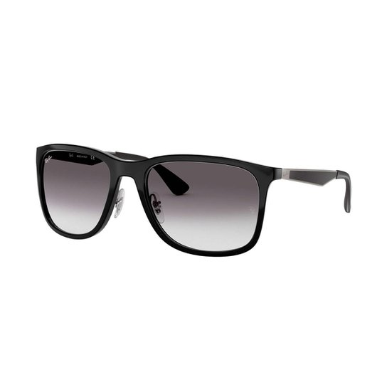 62020ded83f74 Óculos de Sol Ray-Ban Masculino - Prata - Compre Agora