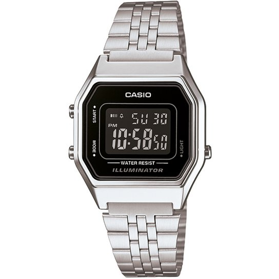 9e0350e4599b0 Relógio Casio Vintage - Prata - Compre Agora   Netshoes