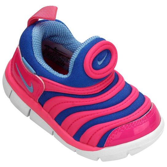 0915288f5 Tênis Infantil Nike Dynamo Free - Pink e Azul - Compre Agora