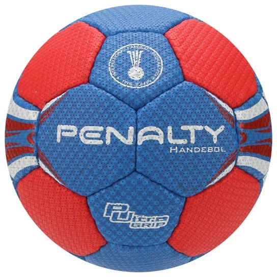 64677f4531 Bola Handebol Penalty Suécia H1L Ultra Grip 4 Infantil - Azul+Vermelho