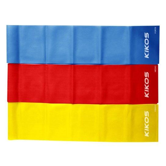 805f07211 Kit De Faixas Elásticas Kikos - Azul e Vermelho - Compre Agora ...