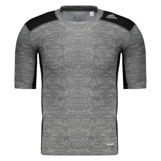 Camisa De Compressão Adidas Techfit Base - Compre Agora  ba6275f794101