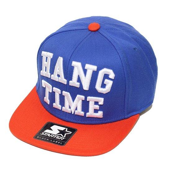 Boné Starter Aba Reta Snapback Hang Time - Compre Agora  64c318bc9e5