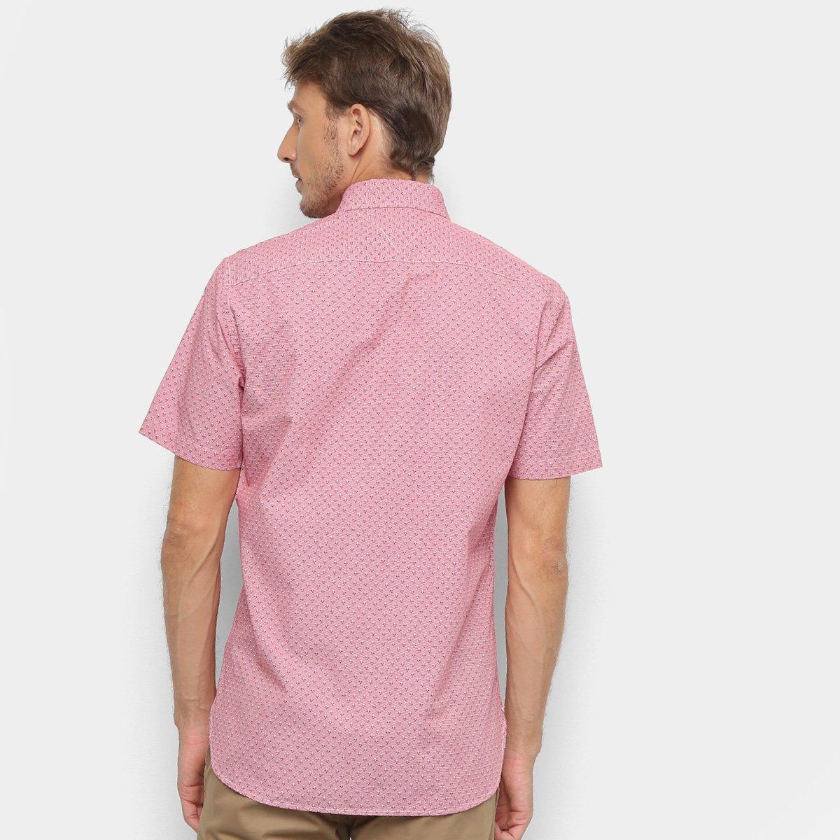 Foto 2 - Camisa Tommy Hilfiger EC Printed Houndstoo Masculina