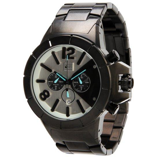 dc2df118659 Relógio Quiksilver Kaspian Metal - Grafite - Compre Agora