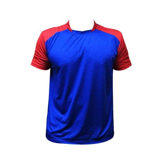 Jogo De Camisa Nata 10+1 Goleiro - Azul e Vermelho - Compre Agora ... e2cdeb16ae945