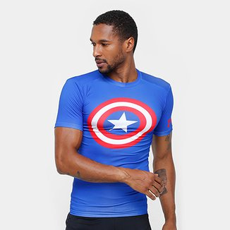 0031dfea621 Camiseta de Compressão Under Armour Heroes Masculina