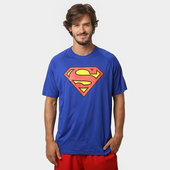 3cda03e8f Camiseta Under Armour Superman Masculina - Compre Agora