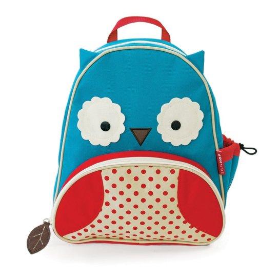 e4af53b79f Mochila Infantil Skip Hop Zoo Coruja - Azul+Vermelho