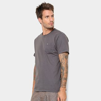Camiseta HD Holog Pocket Bolso Masculina