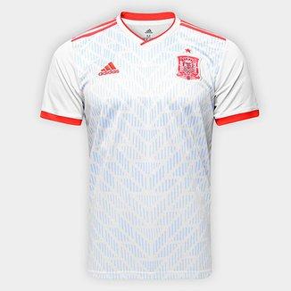 Camisa Seleção Espanha Away 18 19 s n° - Torcedor Adidas Masculina 4021e62221aa0
