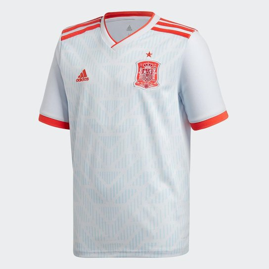 Camisa Seleção Espanha Infantil Away 18 19 s n° - Torcedor Adidas ... a7ac53e29ecee