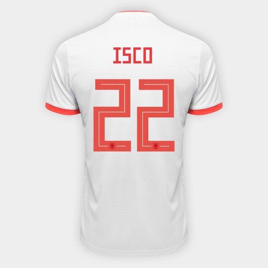 Camisa Seleção Espanha Home 2018 n° 22 Isco - Torcedor Adidas Masculina -  Azul+ 66e6eceb37a1b