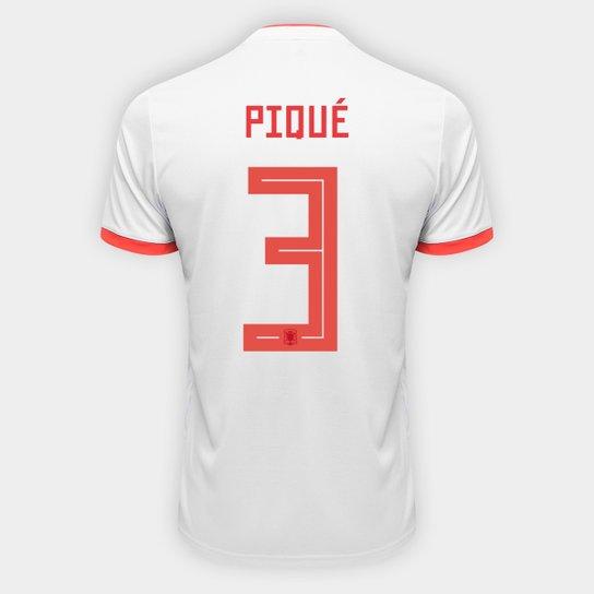 ... Camisa Seleção Espanha Away 2018 n° 3 Piqué - Torcedor Adidas Masculina  - Azul+ 22e59f81084093 ... cc4d4e5072fc2