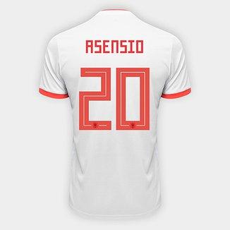 2f27c8d1cc3f4 Camisa Seleção Espanha Home 2018 n° 20 Asensio - Torcedor Adidas Masculina