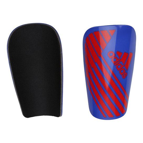 bdec50d53fae9 Caneleira Adidas X Lesto - Azul e Vermelho | Netshoes