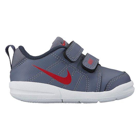 f179c889d7f Tênis Infantil Nike Pico Lt Masculino - Azul e Vermelho - Compre ...