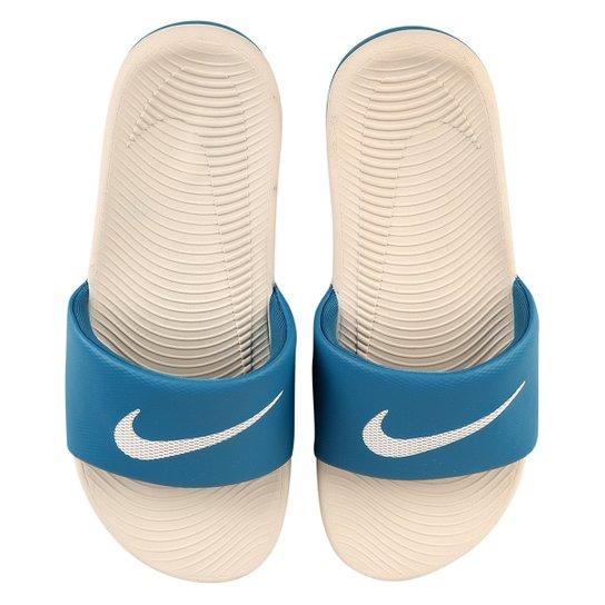 414c7ac135 Sandália Nike Kawa Slide Masculina - Grafite | Netshoes