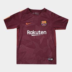 Camisa Barcelona Home 17 18 Nº 10 Messi Torcedor Nike Masculina ... 3ffec9610d6db