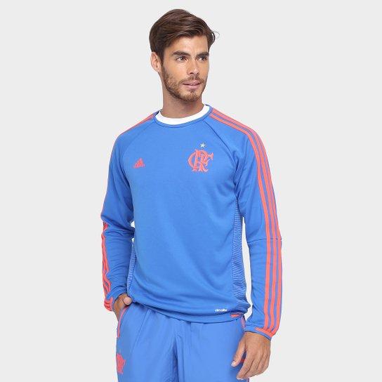 Moletom Flamengo Adidas Treino Lib Masculino - Compre Agora  d61cdf9aa78