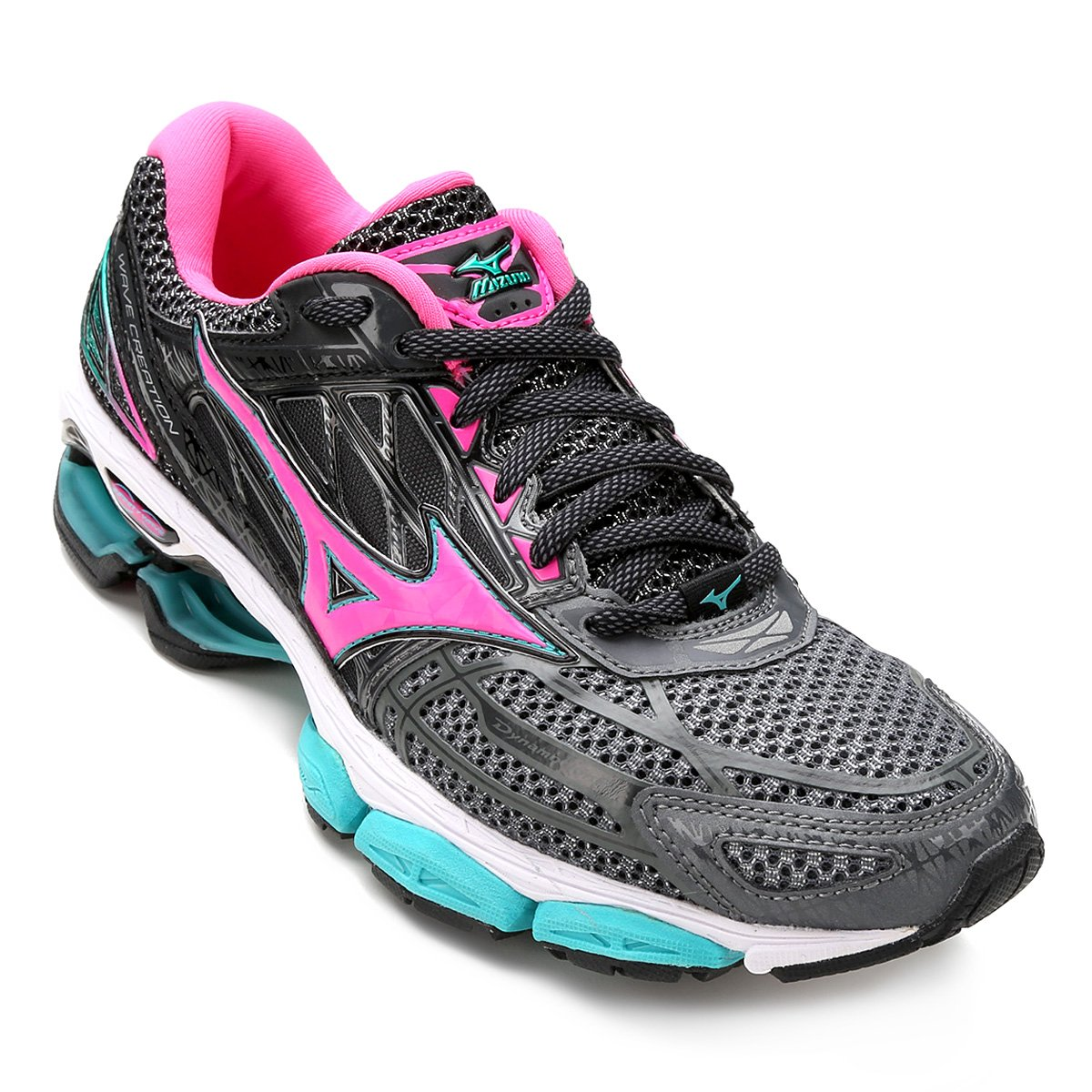 66660d17591 Tênis Mizuno Wave Creation 19 Feminino - Tam  37 - Shopping TudoAzul
