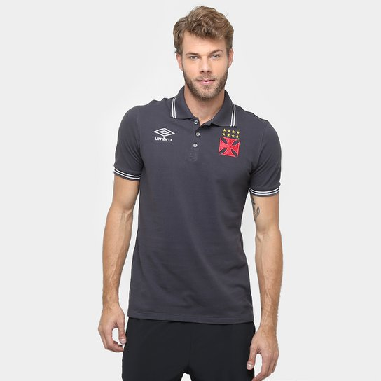 502b041b9f Camisa Polo Vasco Umbro Viagem 2016 Masculina - Compre Agora