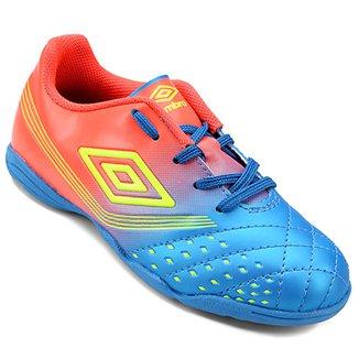 Chuteira Futsal Infantil Umbro Fifty 65eff1533155c