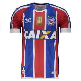 Camisa Umbro Bahia II 2017 Copa do Nordeste Masculina aabe73b3e8651