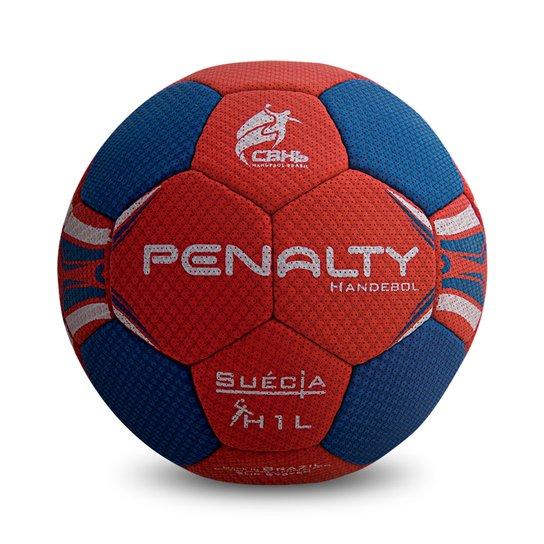 555808fc99 Bola Handebol Penalty H1l Suécia Ultra Grip C C Infantil - Azul+Vermelho
