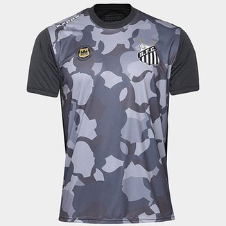 48117e188e Camiseta Santos Kappa Vila Belmiro 17 Masculina