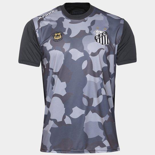 35a4a8e7a16d9 Camiseta Santos Kappa Vila Belmiro 17 Masculina - Compre Agora ...
