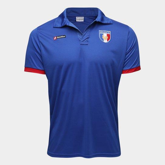 e8be460257 Camisa França 2011 n° 07 Lotto Masculina - Azul+Vermelho