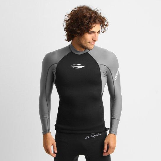 Camisa Surf Mormaii Neoprene 0.5 mm Masculina - Grafite - Compre ... ba5a99949b