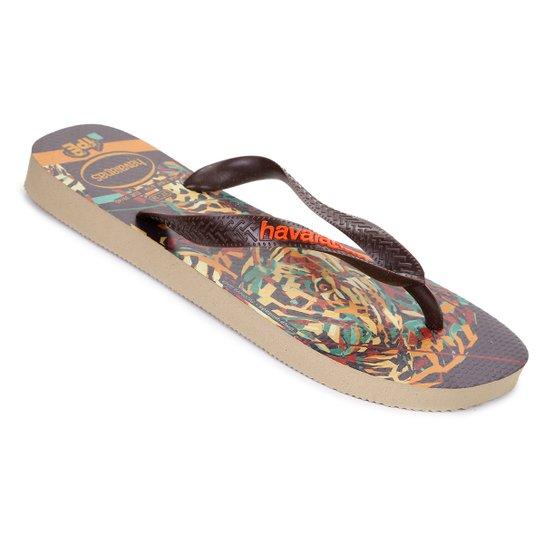 4b20ce400 Sandálias Havaianas Ipe - Areia e Bege - Compre Agora
