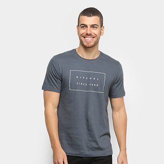 Camiseta Rip Curl Stacked Valley Masculina