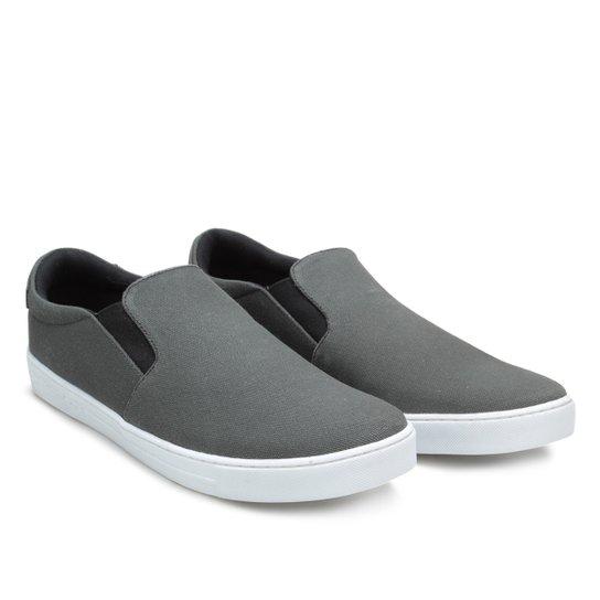 fd35115f48742 Slip On Calvin Klein Iate Lona Masculino - Compre Agora   Netshoes