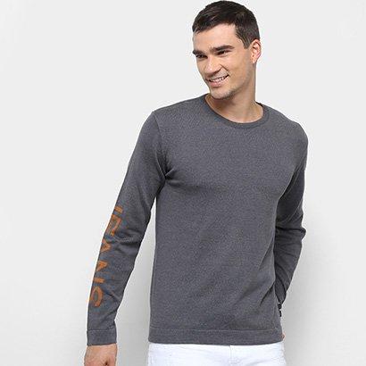Suéter Calvin Klein Logomania Masculino