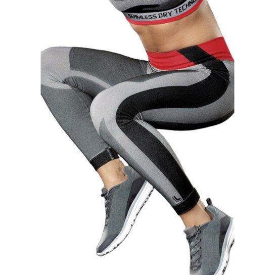 33f66346cde Calça Legging Lupo AF Leg. Mescla Feminina - Grafite - Compre Agora ...