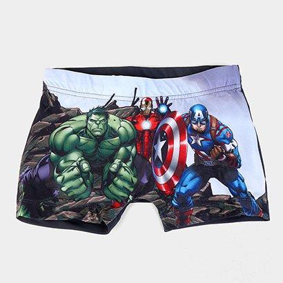 Sunga Infantil Tip Top Boxer Avengers