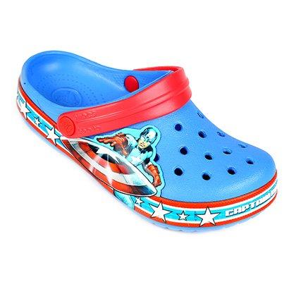 Crocs Infantil Capitão América Clog