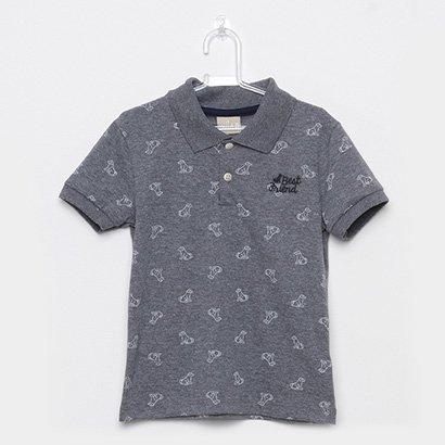 Camisa Polo Infantil Milon Best Friend Masculina