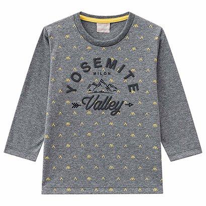 Camiseta Infantil Milon Manga Longa Yosemite Masculina