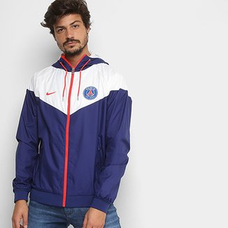 60fca717d88 Jaqueta Paris Saint-Germain Nike Windrunner c  Capuz Masculina