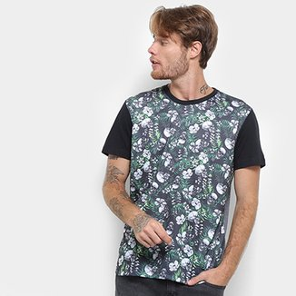 793c86d95d6ea Camiseta Long Island Caveira Masculina