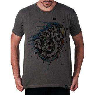 Camiseta Canto Sul Praia do Silveira Artseries Masculina 17227696235b4