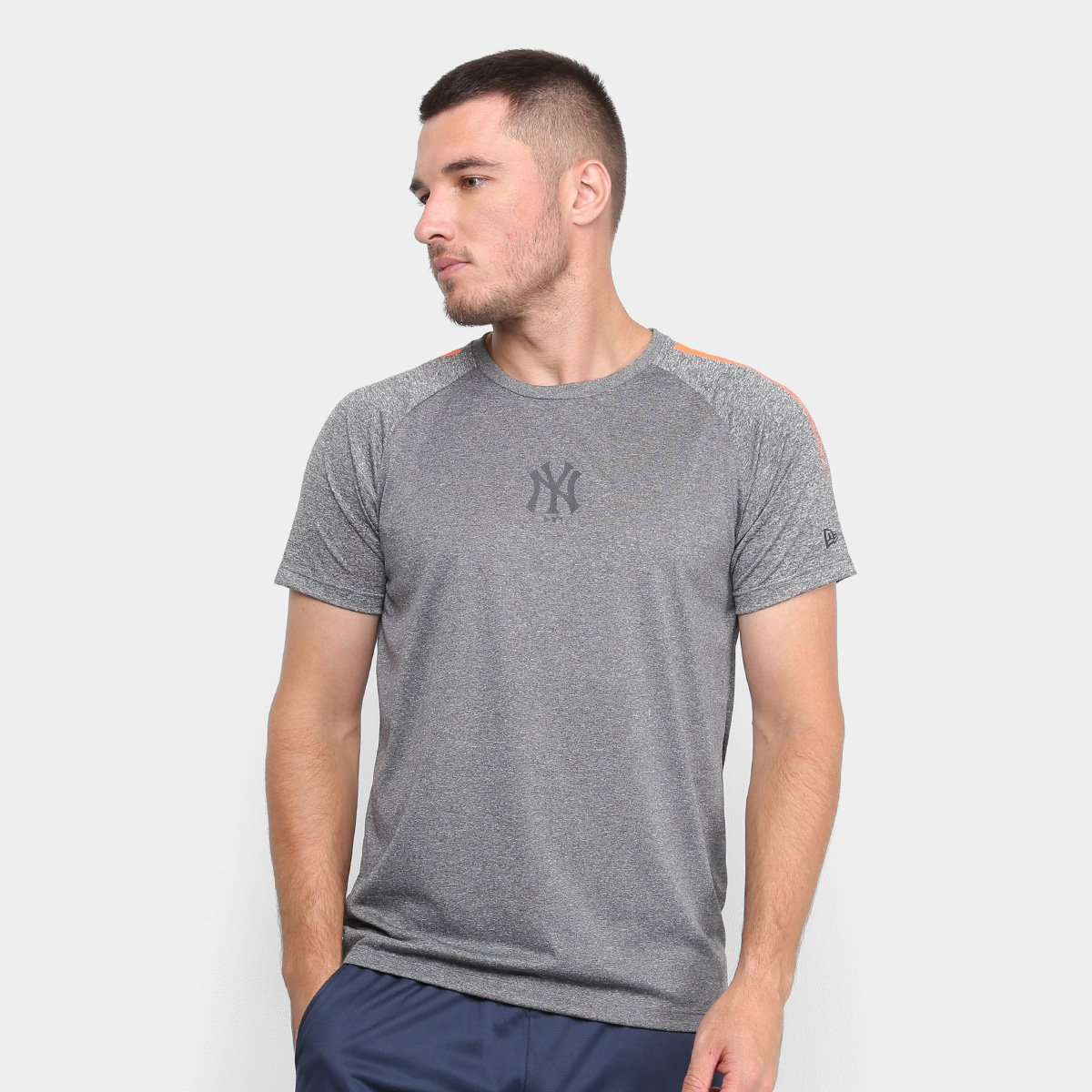 Camiseta MLB New York Yankees New Era Stripes Masculina