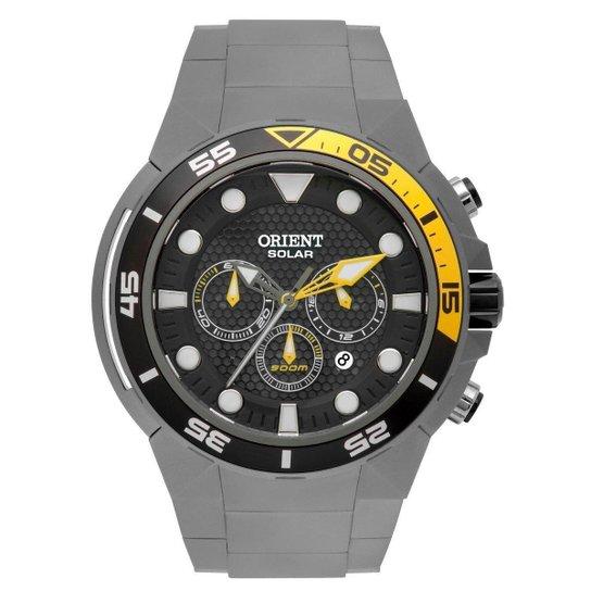 84c887e9739 Relógio Orient Seatech Titanium Solar MBTTC014 P1GX - Grafite ...